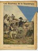 MILITAIRE Les GENERAUX De La REPUBLIQUE Protège Cahier 1793 JUNOT Siège De TOULON  / Coll. CHARIER - Protège-cahiers