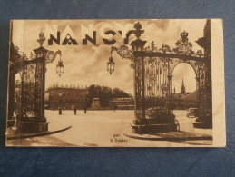 Carnet De 13 CP - Nancy Par V. Roeder - L135B - Nancy