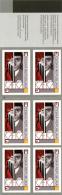Czech Republic 2013 -  Nice Czech Writer Franz Kafka, Booklet 6 Self-adhesive Stamps , BKL - MNH - Ecrivains