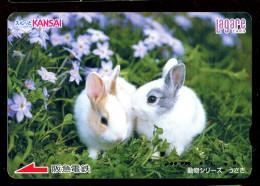 Japon - Télécarte : Lapin - Lapins