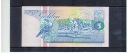 SURINAME - Vijf  Gulden ,  Pick #46 - Surinam