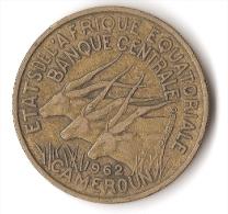 CAMEROUN  25  FRANCS  1962 - Cameroun