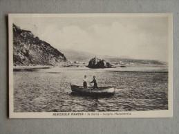 Sv1124)  Albissola Marina -in Barca - Scoglio Madonnetta - Savona