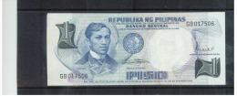 PHILIPPINEN ,  1 Piso ,   Pick # 142 B  ,  UNC - Philippinen