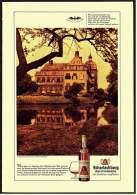 Reklame Werbeanzeige  -  Scharlachberg Meisterbrand  ,  Schloß Hovestadt Bei Soest  ,  Von 1968 - Alkohol
