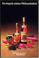 Reklame Werbeanzeige  -  Scharlachberg Meisterbrand  ,  Ein Doppelt Schönes Weihnachtsfest  ,  Von 1973 - Alkohol