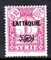 Lattaquye  1  * - Lattaquie (1931-1933)