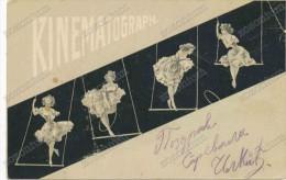 Cinéma - Kinématograph - Jeune Femme Sur Un Trapèze , Young Woman On A Trapeze - Zonder Classificatie