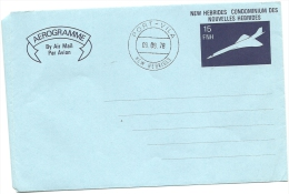 Concorde   Rare  Aérogramme   (ble) - English Legend