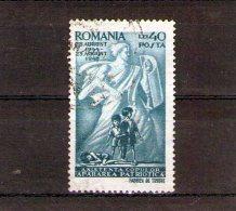 1945 - Emis Au Profit De L Enfance Mi 897 Et Yv  866 - 1918-1948 Ferdinand, Carol II. & Mihai I.