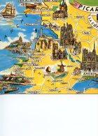 Picardie Côte D'Opale Géographique Gravure N°3 OR 56 Artaud - Autres Communes