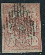 Svizzera 1852 Usato - Mi.12  Yv.23  Rayon III; Firmato; Vedi SCAN - 1843-1852 Poste Federali E Cantonali
