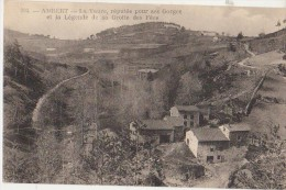 CPA 63 AMBERT Environs La Vaure Hameau - Ambert