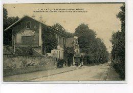 LA VARENNE CHENNEVIERES    HOSTELLERIE DE L ECU DE FRANCE  RUE DE CHAMPIGNY - France