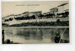 AUDE    COURSAN      QUARTIER DE LA BARQUE - France