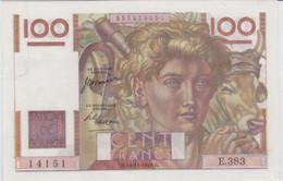 "100F ""PAYSAN"" - 16/11/1950 - ABSOLUMENT NEUF Avec ""PLI"" DE LIASSE (LEGEREMENT GONDOLE) - 1871-1952 Antichi Franchi Circolanti Nel XX Secolo"