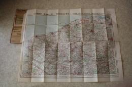 Carte Taride - Routière N° 1, Nord De La France, Belgique (Ouest) - 04/1930. - Cartes Routières