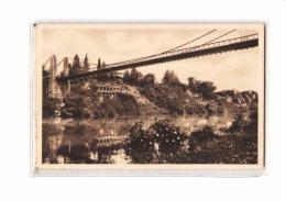 81 LISLE SUR TARN Pont Suspendu, Bords Du Tarn, Ed Bretou, 193? - Lisle Sur Tarn