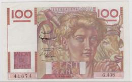 "100F ""PAYSAN"" - 2/11/1951 - ABSOLUMENT NEUF Avec ""PLI"" DE LIASSE (LEGEREMENT GONDOLE)"