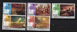 Samoa Scott N° 428/432 Neuf (748) - Samoa