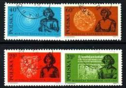 POLAND 1972 MICHEL NO: 2182 - 2185 USED /zx/ - Gebruikt