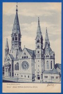 Deutschland; Berlin; Charlottenburg; Kaiser Wilhelm Gedächtniss Kirche - Charlottenburg