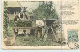 A TRAVERS LA CAMPAGNE NORMANDE  - Fabrication Du Cidre. - Farmers