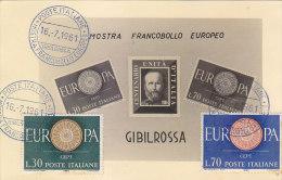 E804- Mostra Francobollo Europeo 1961 - Gibilrossa Misilmeri Palermo - Palermo