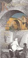 SCHUITEN. Rêves De Pierres.De Piranèse à Schuiten & Peeters.Dépliant EXPO 1999 Musée De La Vallée Du Lot. Villeneuve/Lot - Objets Publicitaires
