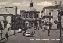 E807- Paternò - Catania - Piazza Indipendenza E Chiesa Madre - F.g.  Vg. - Messina