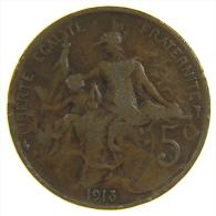 5 CENTIMES DUPUIS - 1913 - Francia