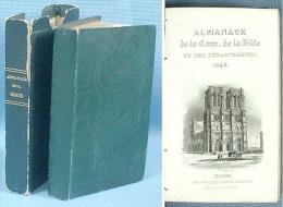 Almanach De La Cour De Paris Et Des Départements /  Veuve Louis Janet Libraire éditeur En 1845 - 1801-1900