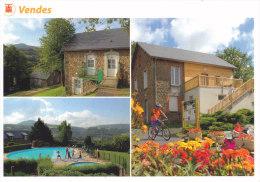 CHOUETTE- Vendes - Petite Chouette En Haut à Gauche- 3 Vues - Cpm, Neuve, - Pájaros