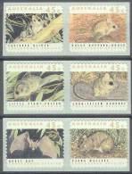 ANIMALES - AUSTRALIA 1998 - Yvert #1249/54 - MNH ** - Roedores
