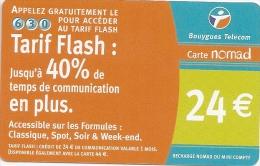 NOMADE RECHARGE  630 TARIF FLASH - France