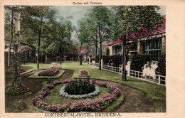 DRESDEN Continental-Hotel, Garten Mit Terrasse - Dresden