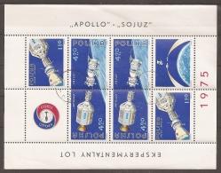 ESPACIO - POLONIA 1975 - Yvert #H68 - VFU - Espacio