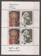 PINTURA/PICASSO - POLONIA 1981 - Yvert #H92 - VFU - Picasso