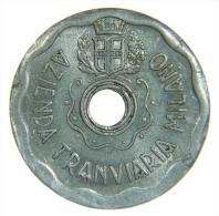 GETTONE AZIENDA TRANVIARIA MILANO - CORSA RIDOTTA -  1944 A - Italia