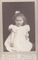 Kabinettfoto, Lore Schüle Als Kleinkind, Foto: Weingard, Ottweiler, Um 1905 - Identifizierten Personen
