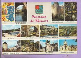 79 -  Panorama De THOUARS -  Multivues - Blason - Thouars