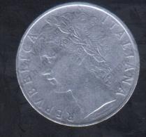 ITALIA  100 LIRA 1966 USADA - Italia