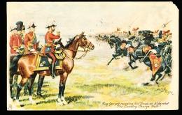 GB ALDERSHOT / King George V Reviewing His Troops / - Other