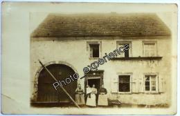 CPA Carte Photo Village AK Dorf 1913 GISINGEN Saarland Allemagne Deutschland - Allemagne