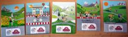 LOT Complet Magnets Banette Tour De France Cyclisme 2013 - Sport