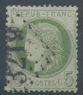 Lot N°22707    Variété/n°53, Oblit GC 3219 ROUEN(74), Tache Blanche Face Au Frond, C Aprés POSTES - 1871-1875 Ceres