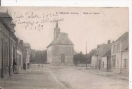 FOUILLOY (SOMME)  6 PLACE DE L'EGLISE 1917 - France