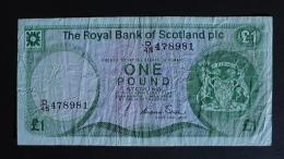 Scotland - 1 Pound - 1986 - P 341 - VF - Look Scan - [ 3] Schottland
