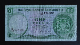 Scotland - 1 Pound - 1986 - P 341 - VF - Look Scan - [ 3] Scotland