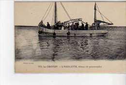 LE CROTOY - L'Harletette - Bateau De Promenades - Très Bon état - Le Crotoy